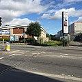 Railway lines crossing King Street, Weymouth (geograph 5529587).jpg
