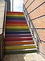 Rainbow steps Leeds 16 August 2018.jpg