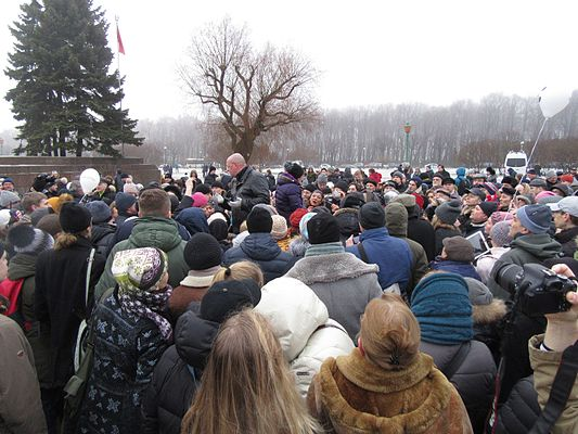 Rally against cession of St Isaac Cathedral to The Russian Orthodox Church (St. Petersburg, 2017-01-28) 34.jpg