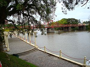 Carmelo, Uruguay - The Bridge Rotary of Carmelo over the Arroyo de las Vacas