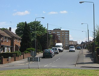 Ramsden Estate (Orpington) - Image: Ramsden Road geograph.org.uk 1352063