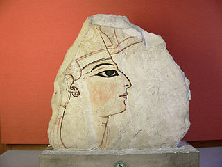 Ostracon au profil royal