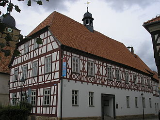 Heldburger Land - Town hall of Heldburg