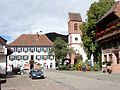 Rathaus und St. Afra Mühlenbach 2013.jpg