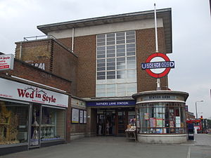 Rayners Lane tube station - Image: Rayners Lane stn entrance