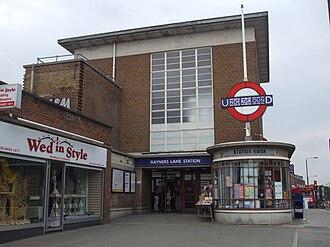 Rayners Lane tube station - Image: Rayners Lane stn entrance