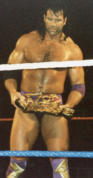 Scott Hall - Hall wrestling as Razor Ramon