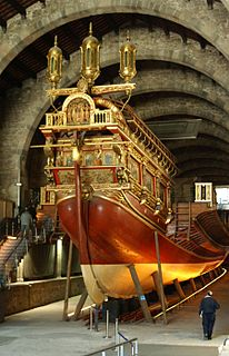<i>Real</i> (galley) 16th-century galley ship from Barcelona