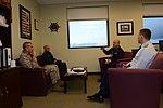 Rear Adm. Taylor briefs Sgt. Maj. Bryan Battaglia 130315-G-JL323-009.jpg