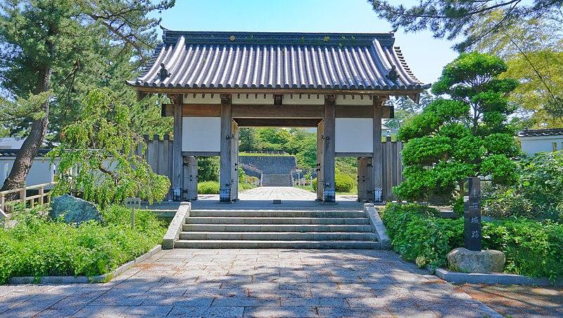 File:Reconstructed Otemon gate of Honjo Castle.jpg