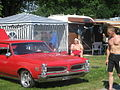 Red Pontiac at Power Big Meet 2005 2.jpg