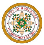 Official seal of Redlands, California