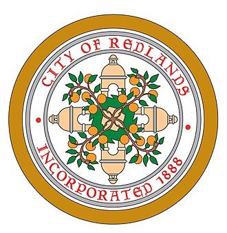 Redlands, California - Image: Redlands, California seal