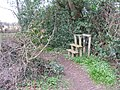 Redundant stile - geograph.org.uk - 1773752.jpg