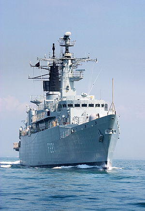 HMS Coventry (F98) - Regele Ferdinand in 2005