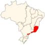 Região hidrográfica do Atlântico Sudeste