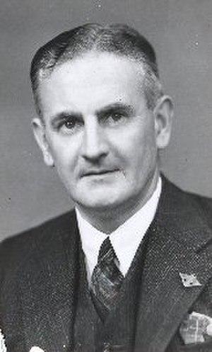 Tasmanian state election, 1950 - Image: Reginald Townley