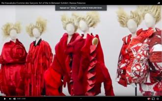Rei Kawakubo - Art of the inbetween exhibition, Metropolitan Museum of Art, 2017