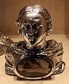 Reliquiario a forma di busto di santo ignoto, argento, xviii sec.JPG