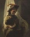 Rembrandt follower - The Flag Bearer.jpg