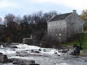 Renfrew, Ontario - The McDougall Mill Museum on the Bonnechere River