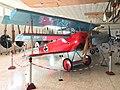Replica Fokker DR.I at Museo de Aeronáutica y Astronáutica de España 03.jpg