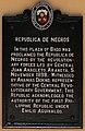 Republic of Negros historical marker.jpg