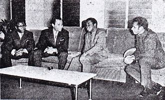 Democratic Republic of the Congo–Republic of the Congo relations - Officials from both countries meet in 1970