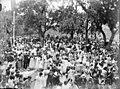 Reunió festiva a la plaça d'un poble ballant sardanes (AFCEC RIBASV C 2703).jpeg