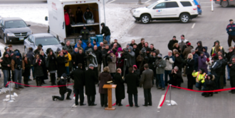 Winnipeg Route 17 - Ribbon Cutting of the Chief Peguis Extension