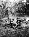 Rio Madidi, Bolivia. Indianer på besök i expeditionens läger. Rio Madidi - SMVK - 005545.tif