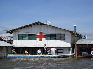 Colombian Red Cross - Colombian Red Cross building in Choco Department
