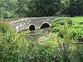 Road Bridge over By Brook, Slaughterford. - panoramio.jpg