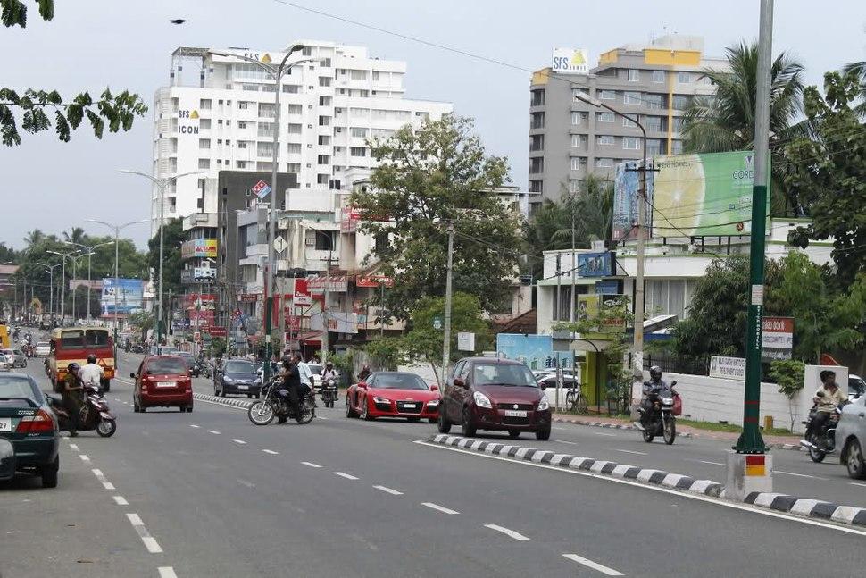 Road transport in Trivandrum