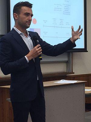 Robert A. Agresta - Agresta publicly presenting in Tokyo, Japan