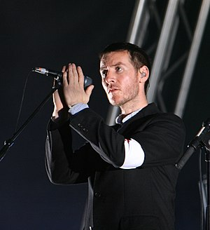 Massive Attack - Robert Del Naja at Barcelona 2007
