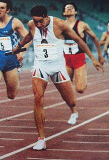Roberto Ribaud Italian sprinter