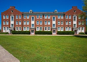 History of Louisiana Tech University - Robinson Hall - Named in honor of W.C. Robinson who was a professor of mathematics and for a short time the second president of Louisiana Tech University ( though named Louisiana Industrial Institute at the time.)