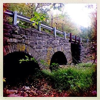 Zion, New Jersey - Rock Brook Bridge in Zion