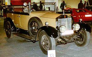 Rolls-Royce Twenty - Image: Rolls Royce 20 HP