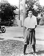 Ronald Reagan in Dixon, Illinois, 1920s