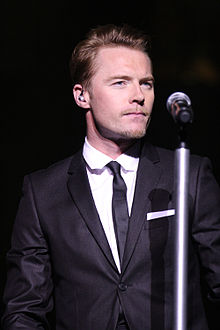 Ronan Keating - the  musician  with Irish roots in 2018