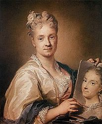 Rosalba Carriera: Self-portrait