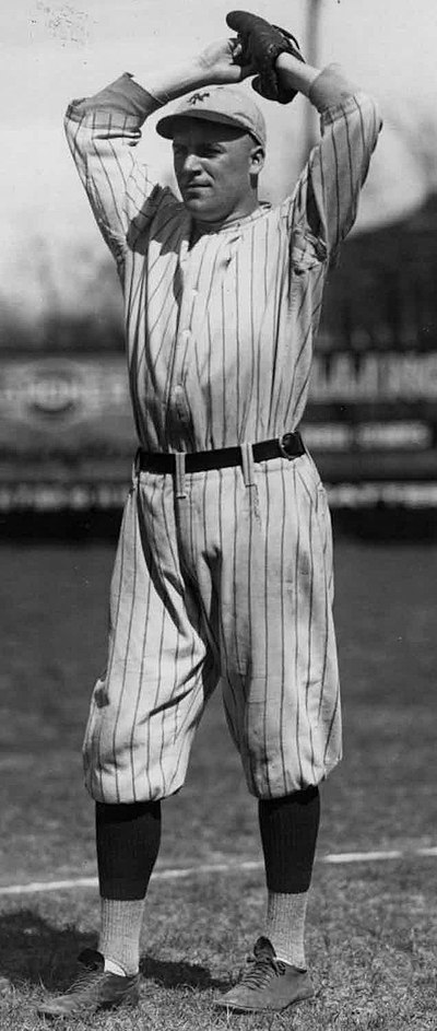 Former major leaguer Rosy Ryan was the star on the mound in Falmouth's 1938 title season Rosy Ryan.jpeg