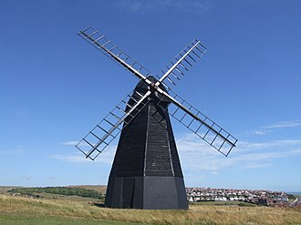 Beacon Mill, Rottingdean - The mill in 2010