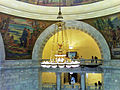 Rotunda chandelier, Utah State Capitol in Salt Lake City, Utah.jpg