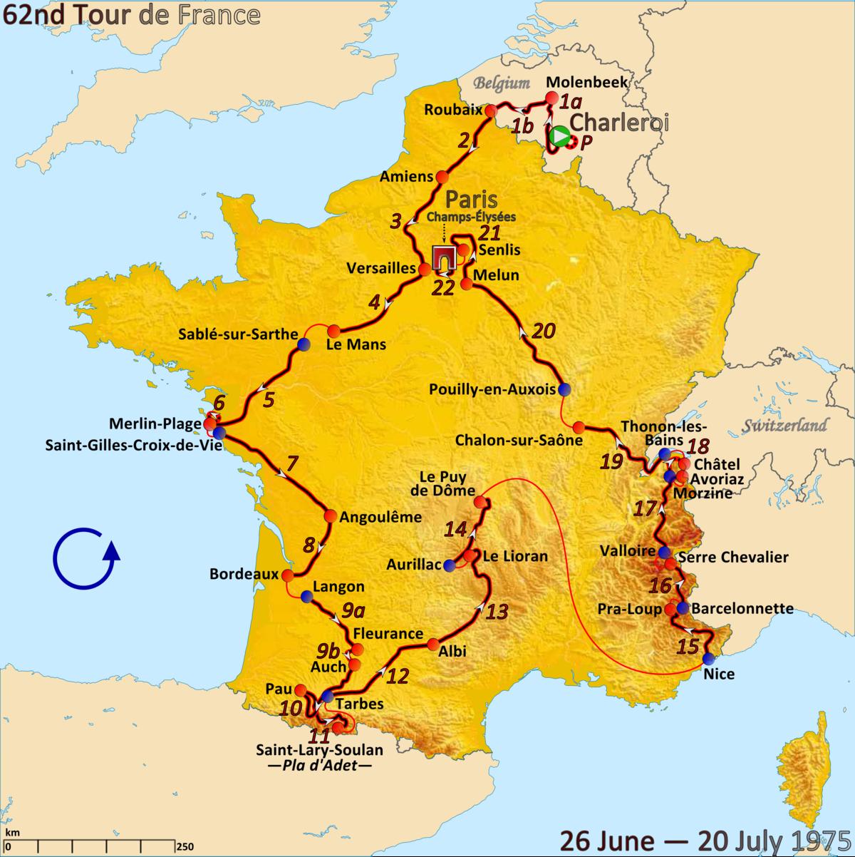 1975 Tour de France Wikipedia