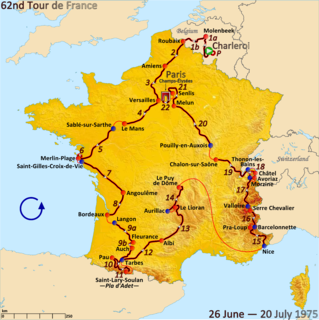 1975 Tour de France cycling race