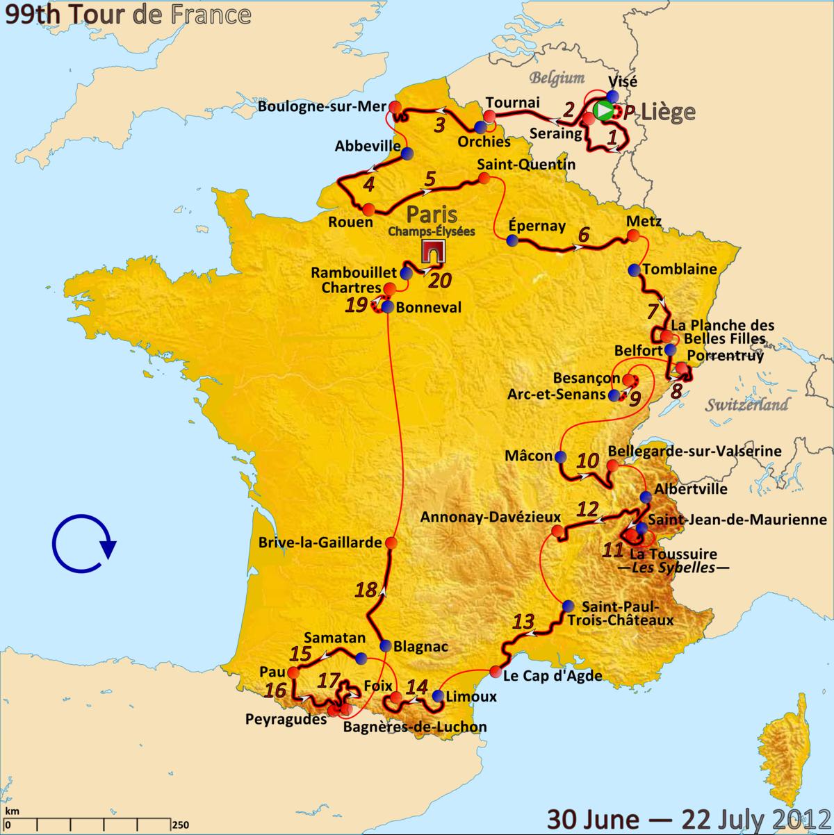 Tour de France 2012 – Wikipedie