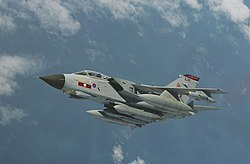 Royal Air Force Tornado GR4 Aircraft from 617 Squadron with Storm Shadow Cruise Missiles MOD 45153982.jpg